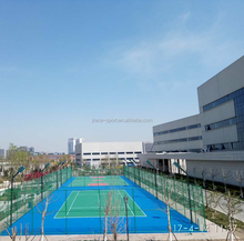 High wearing resistance tennis court sports floor