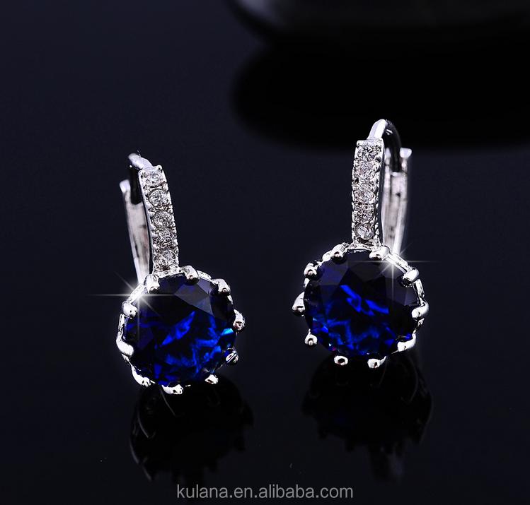2017 Fashion Costume Jewelry Strong Earrings Diamond