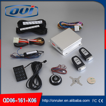 Auto Passive Keyless Entry Vehicle PKE Engine Start Stop System with smart remote starter and anti-hijacking functions
