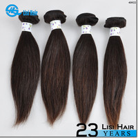 2015 Best Selling leading hair maufacturer Double Weft no shedding ali express factory straight peruvian virgin hair