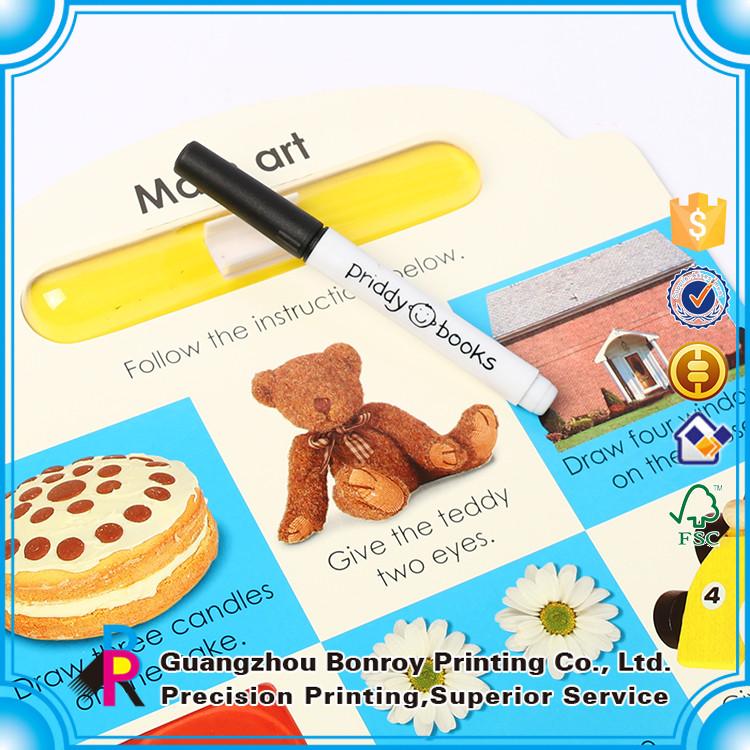 china cheap colorful fancy shape printing children foam board book