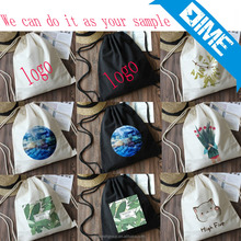 Low Cost Eco Friendly Drawstring Bag Cotton For Promotion