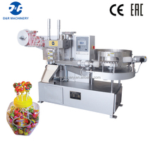 Lollipop sealing machine high effectivy, automatic lollipop wrapping machine