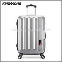 High Class cheap hard shell luggage stainless steel trolley luggage cover