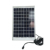 10W/7Ah Multi Color Dc Solar Kit With Mp3 Player&Radio And 3 In 1 Mobile Charger