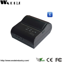 Portable 80mm Thermal Receipt Printer Mini Wireless Bluetooth Pos Receipt Printer Used For Fast Food