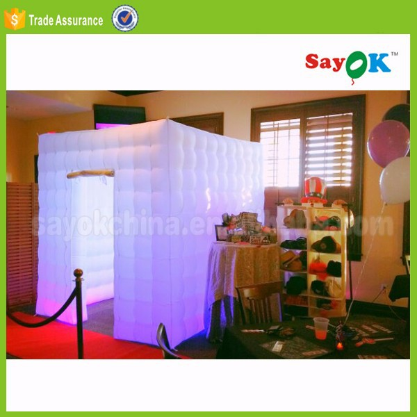 wholesale photobooth portable , used portable led inflatable photo booth shell for sale