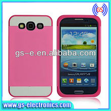 Dual Color PC + TPU Hard Back Cover Case for Samsung I9300 Galaxy S III S3