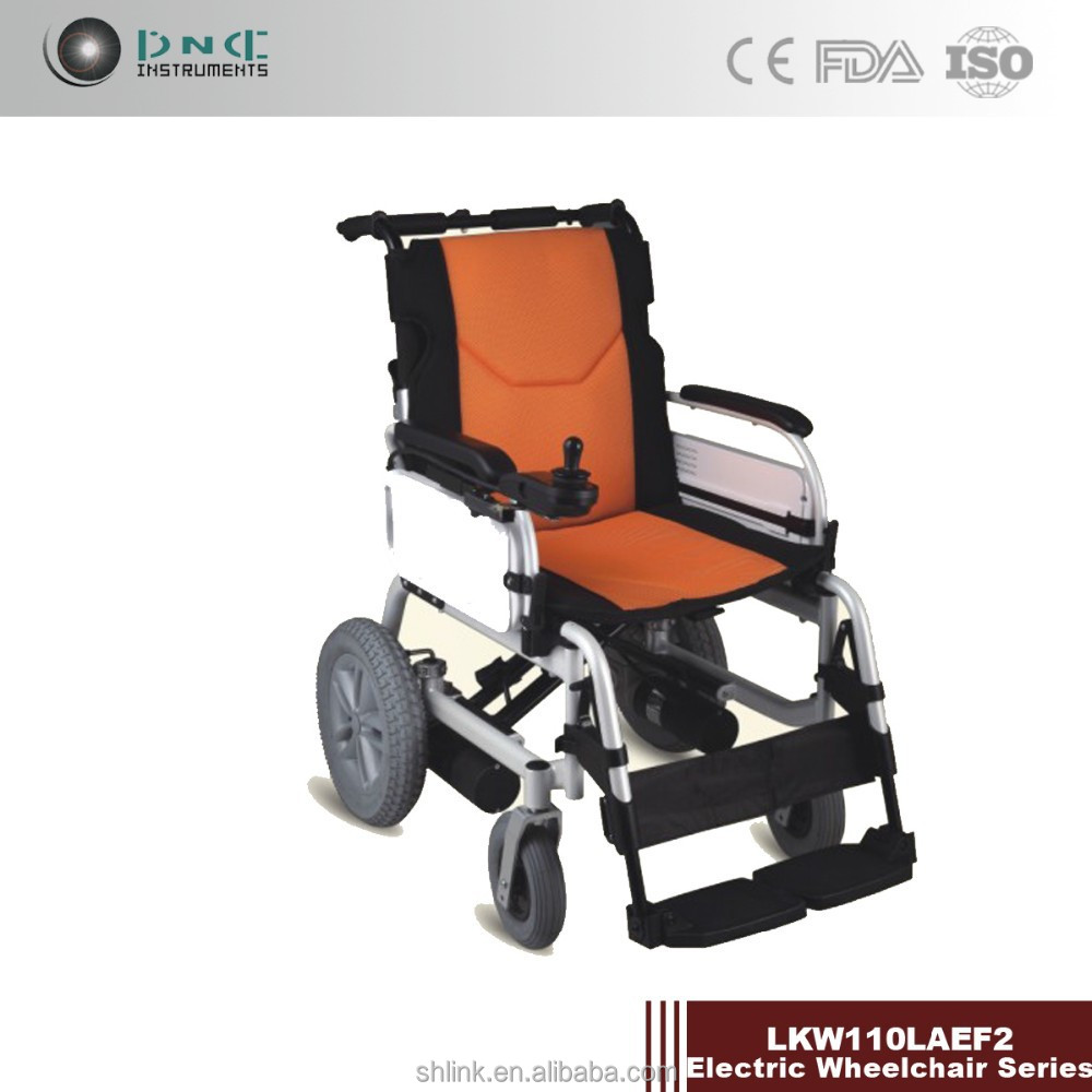Foldable automatic electric wheelchair