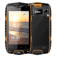 Drop Shipping AGM A7 Triple Proofing Phone, 2GB+16GB IP68 Waterproof Dustproof Shockproof, 4.0 inch Android 6.0 OTG Mobile PHone