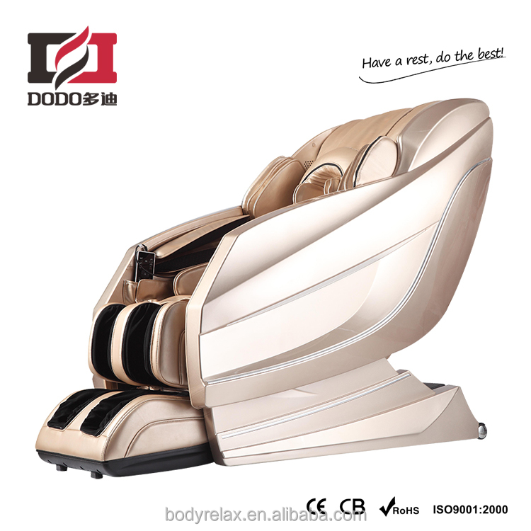 DLA10 massage chair: best L shape massage chair with zero gravity, sliding, bluetooth and foot roller