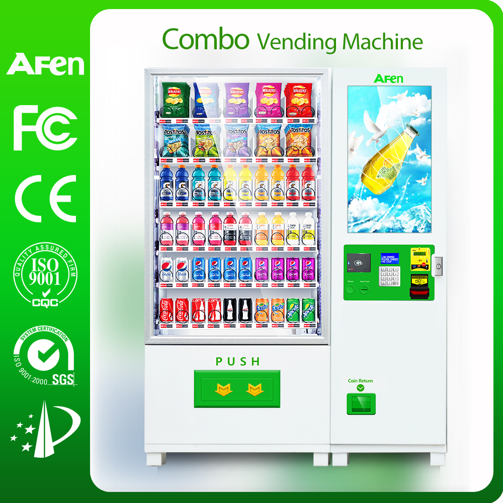 32 inch Touch screen Fruit&salad&gift Automatic vending machine