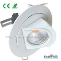 10W Horizontal 360 degree Adjustable COB Led Trunk Downlight