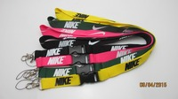 free sample premium personalized nike lanyards with phone holder
