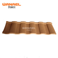 Popular Aluminum Roof Tile,Wanael Roman Stone Coated Metal Roof Tile In Us