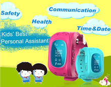 Newest kids GPS Tracker Smart Bracelet Wristbands Smart Watch Q50 Emergency Anti-lost for kids