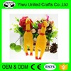 Wholesale Cheap Funny Squeaky Shrilling Plastic Chicken Toy