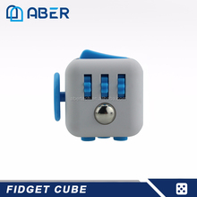 2017 Hot Selling New Desk Toy Fidget Stress Cube for Kids and Adults