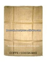 High Quality Brown 50 kg Jute Coffee and Cocoa Jute Bags