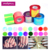 Nail Art Designed Fantasy Decals Colorful Glass Mirror Aurora Nail Stickers