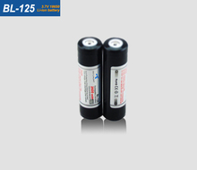 2017 popular BL-125 3.7V 2600mAh protected 18650 rechargeable lithium li-ion battery