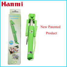 Flexible extendable hand held monopod Handheld selfie stick