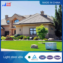 Small villa architectural design Light steel container house villa