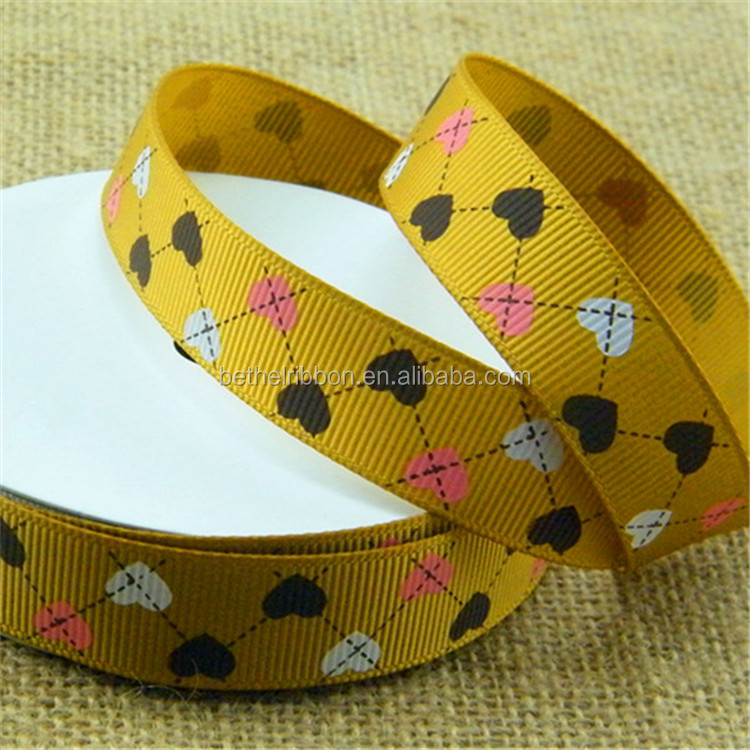 Economic new coming seam binding printed ribbon