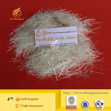 E-glass Fiberglass Chopped Strands can be applied to the filament is not suitable for field