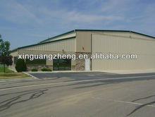low cost prefab steel construction warehouse