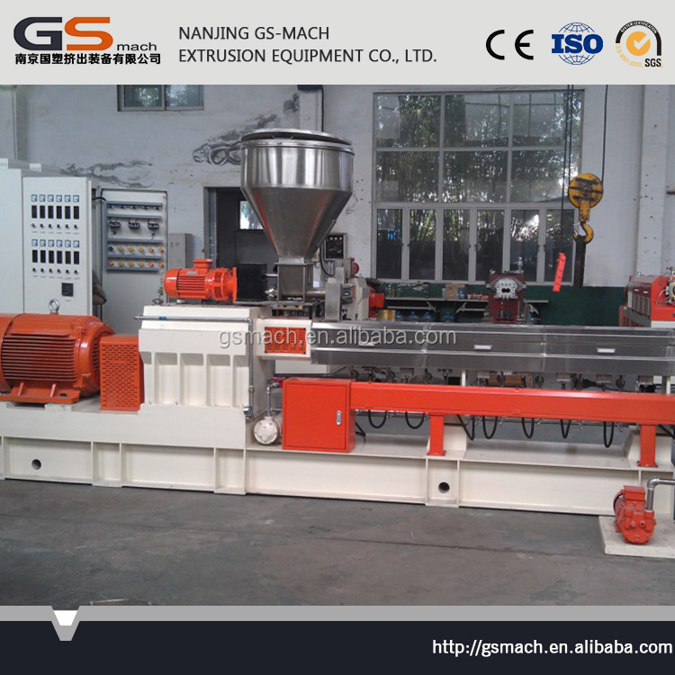 Manufacturer supply excellent mixing performance parallel co-rotating twin screw extruders