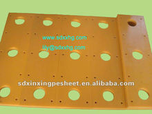 UHMW PE Marine fender frontal pad to protect ship's hull