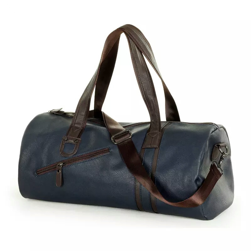 Durable and Waterproof Style Duffel Bag With Leather Material