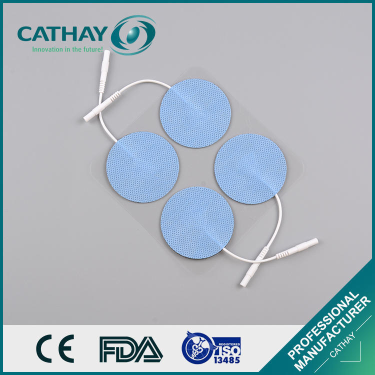 Factory deirectly supply FDA certificated ECG electrode snap self-adhensive pad