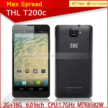 2014 Hot sell MT6592W THL T200C Octa-Core 1.7GHz 6.0 inch screen all brands mobile phones