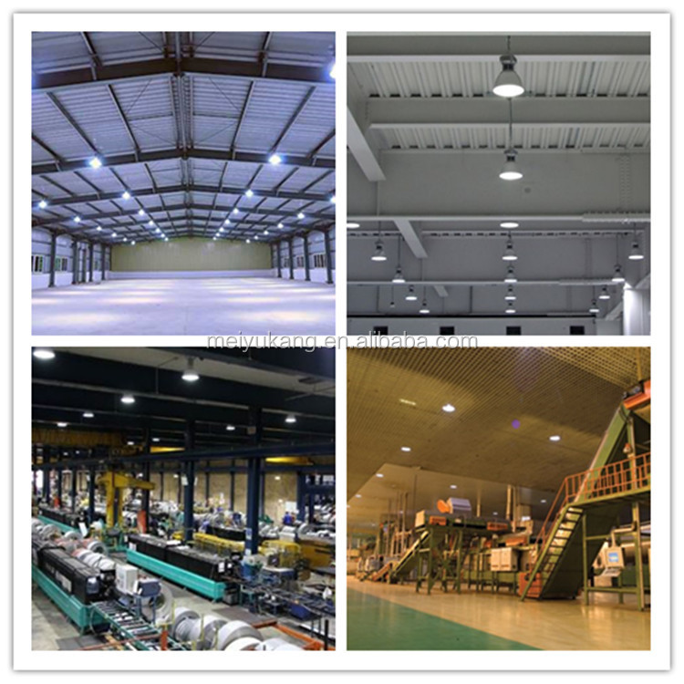 2015 China Factory Price ADC12 Material Lampshade Optional LED 400W COB High Bay Lights Fixtures