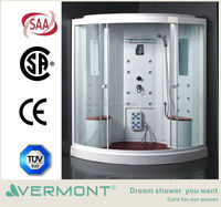 Double luxury portable steam shower room with TV