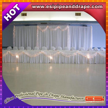 ESI wedding ceiling drape fabric, chiffon drape for wedding decoration