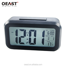 6 buttons multifunctional large lcd digital clock