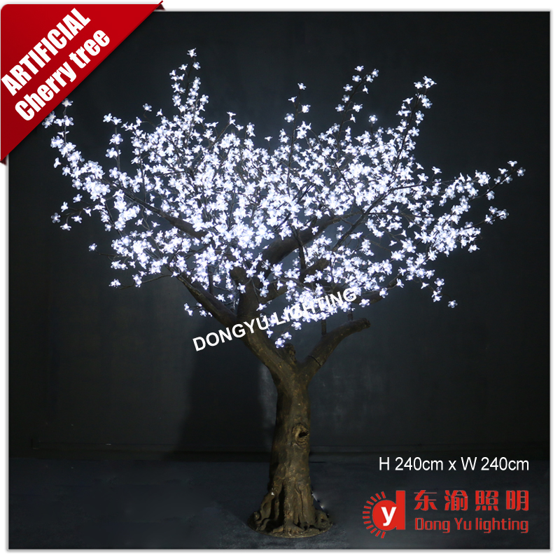 outdoor lighted cherry blossom trees led tree light up cherry trees for wedding decoration