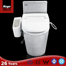 stainless steel heated electric toilet seat
