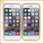 new products mirror aluminum metal bumper plastic case for iphone 7