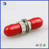 Supply ST fiber optic adapter SM SX optical adaptors red color