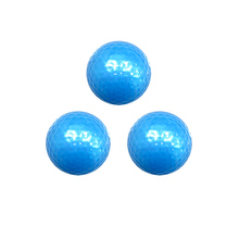 2-layer blue crystal golf balls for christmas driving range golf ball