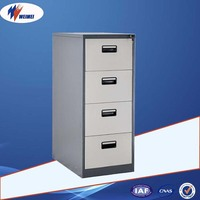 Commercial Office Furniture 4 Drawer Cupboards Metal File Cabinet for Sale