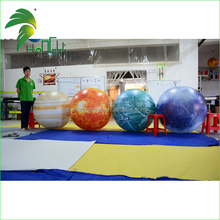 2016 Hot Sale Giant Inflatable Planet Balloon / Fantasy Advertising / Party / Club Hanging Decoration Inflatable Planets Balloon