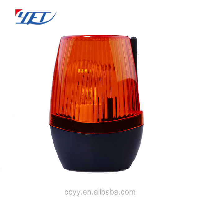Wireless remote Fire alarm Siren and Light, Beacon Flashlight and Siren for Alarm System