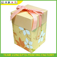 Special design paper gift packing ideas for wedding