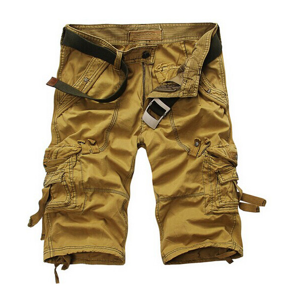 Men's Clothing 2018 Casual Shorts Male Loose Work Shorts Brand Clothing Cargo Shorts Man Military Short Pants Beach Board Shorts Plus Size Up-To-Date Styling