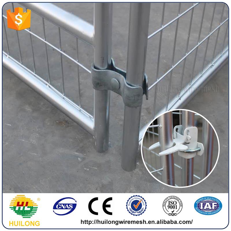 Alibaba express first-rate galvanized dog kennels pet cages Huilong factory direct